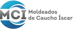 Moldeados de cauchos Íscar Logo